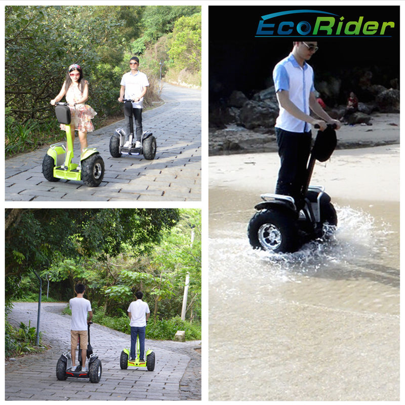 Outdoor Self Balancing Scooters 4000W 800mm - 1100mm Handle Adjustable