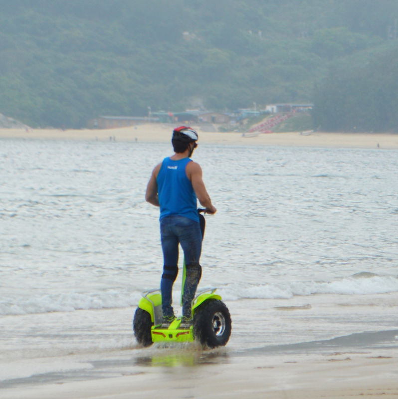 App Controlled self balance segway motorized scooter with CE standard