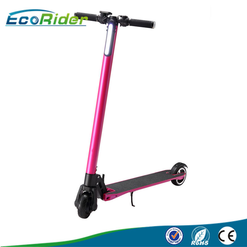 CE Certifcated 350W Power 2 Wheel Electric Folding Bike With 24V 10.4Ah Battery