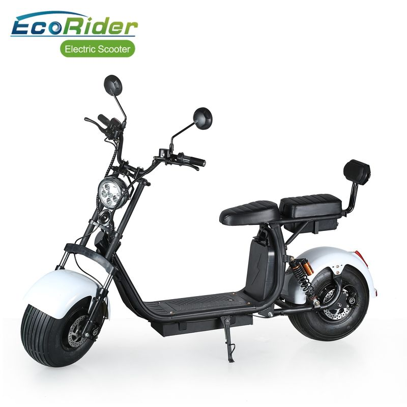 Adluts Citycoco 1000W 2 Wheel Electric Scooter With Removable Lithium Battery