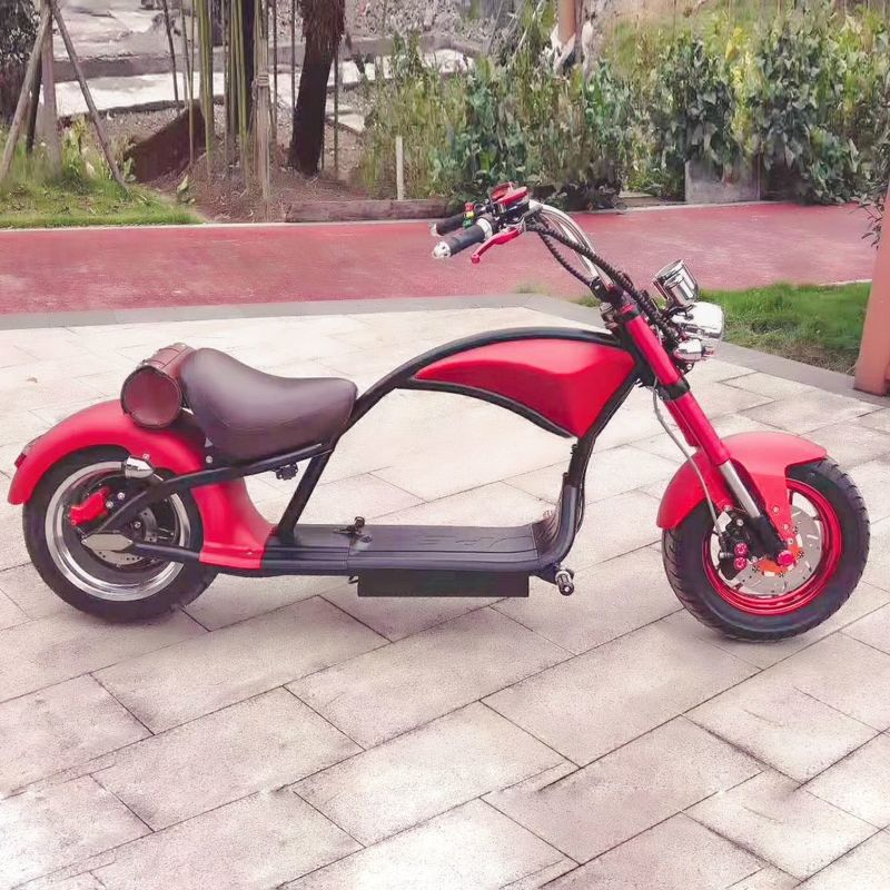 Electric Motorcycle Two Wheel Mobility Scooter 19 Inch Tire 60km/h Motor Brushless
