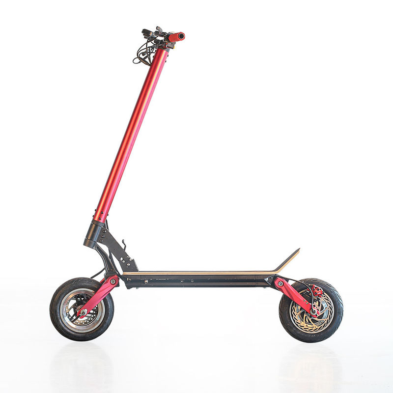 Factory price Ecorider Max mileage 80km 48v 10inch fat tire Portable 2000w Electric kick Scooter
